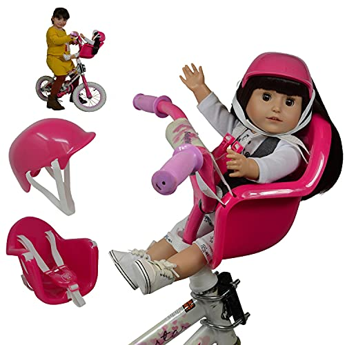 The New York Doll Collection Doll Bike Seat Carrier for Baby Dolls &...