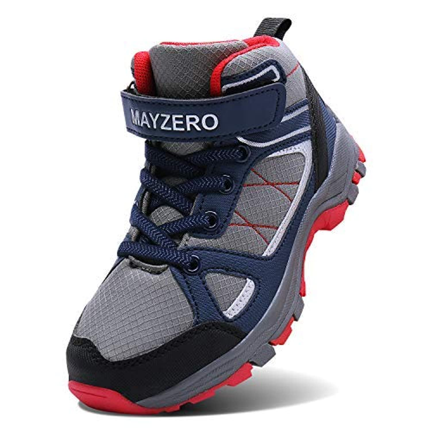 Caitin Kids Hiking Boots Lightweight Tennis Running Shoes Outdoor Athletic Sneakers for Boys and Girls [並行輸入品]