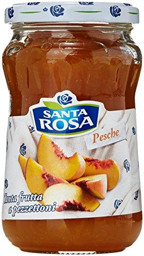 6x Santa Rosa Pfirsich Marmelade Konfitüre Italienisch Fruchtaufstrich 600g