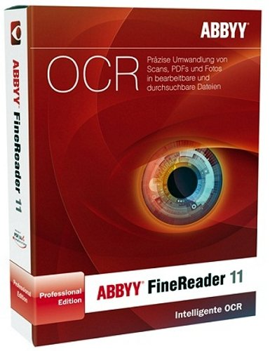 ABBYY FineReader 11 Professional Anniversary Edition inkl. PDF Transformer 3.0