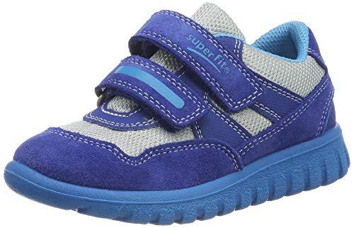 Superfit Baby Jungen SPORT7 Mini Sneaker, Blau (Blau 80), 25 EU