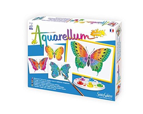 Distrifun (Sento) - Loisirs créatifs - Papillons Aquarellum Juni