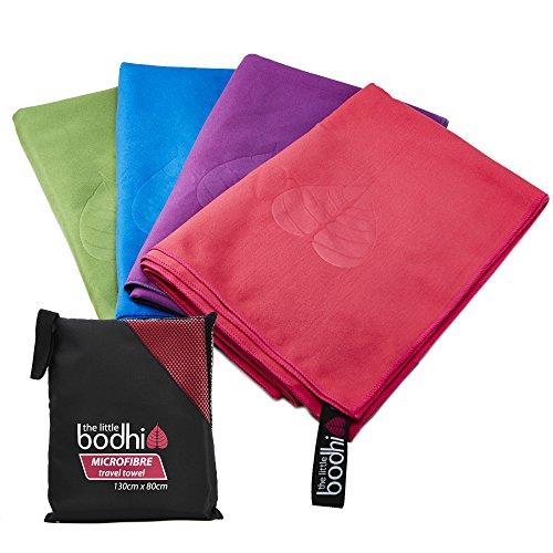 Microfibre Towel large size 130cm x 80cm with carry bag - quick dry towel....