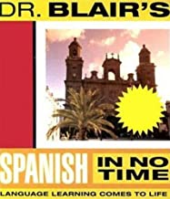 dr blair's spanish in no time