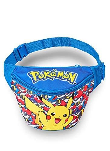 Pokémon heuptas | Pikachu-tas voor jongens | kinderen heuptas | portemonnee voor outdoor, sport, school | cadeau voor kinderen 3 4 5 6 7 8 9 10 + jaar