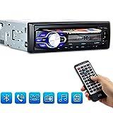 PolarLander Autoradio Bluetooth, Lettore CD Auto, Auto Audio Stereo FM Radio Ricevitore, Auto Stereo...