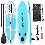 MaxKare Inflatable Paddle Board Stand Up Paddle Board SUP with Premium...