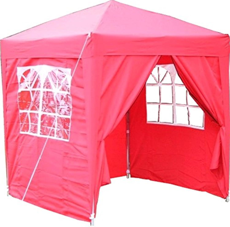 Airwave Pop-Up-Pavillon, 2 x 2 m, rot