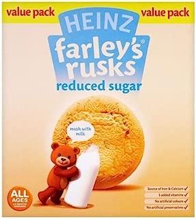 Heinz Farley's Rusks Reduced Sugar 4mth+ (18 per pack - 300g)