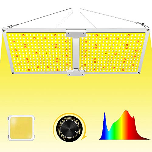 Uoiuxc Samsung LED Grow Lights for Indoor Plants Full Spectrum, Dimmable LED Grow Light QB 2000 for Veg Bloom with Updated 468 LEDs Samsung Grow Lamp 220 Watt