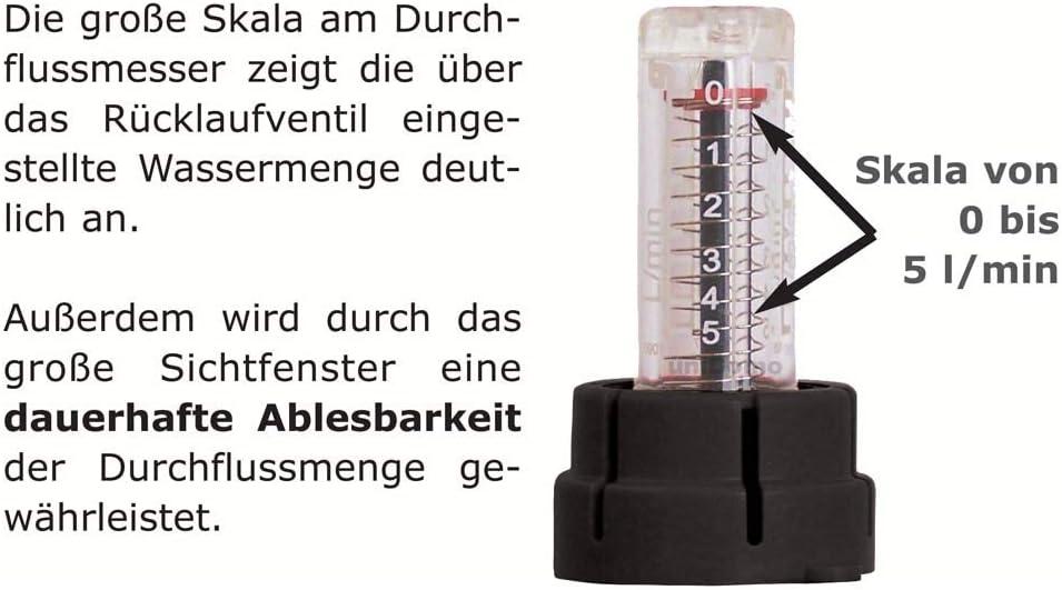 Heizkreise//Baul/änge:2 HK Buderus Empur Messing Heizkreisverteiler Systemverteiler HKV-D Durchflussmengenmesser 150 mm