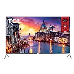 commercial TCL 75R617 – Roku 4K Ultra HD 75 inch smart LED TV (2019 model) oled roku tv