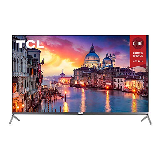 TCL 75R617 75-Inch 4K Ultra HD Roku Smart LED TV (2019 Model)