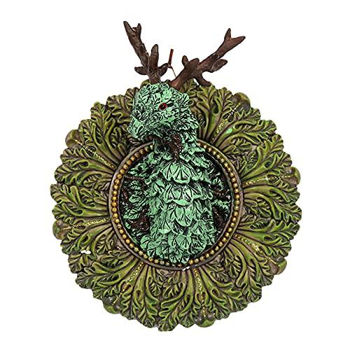 MagiDeal Escultura de Pared de dragón 3D Sala de Estar Estatuillas de Talla de Animales Estatua Fondo Granja Resina Artesanía Adorno Taxidermia Oficina Arte de