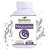 Melatonina para conciliar el sueño | Beneficioso para dormir mejor por más tiempo y relajarse | Reduce el insomnio, estres y la fatiga | Con extractos de plantas