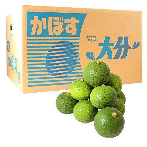 大分竹田産かぼす青果1箱 10Kg(秀品)(送料無料)(受注発注商品)(貯蔵カボス)