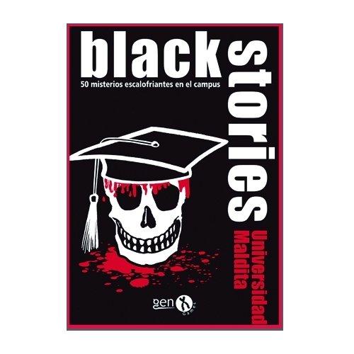 Black Stories- Universidad Maldita (Gen X Games GENBS35): Amazon ...