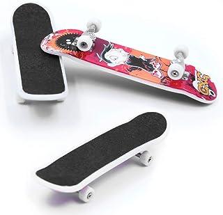 Mini Fingerboard Skateboard Plastic Skate Boarding CL Toys D9P0 X0K1 Model M0C8