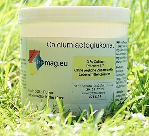 Calciumlactoglukonat, Dose zu 500 g