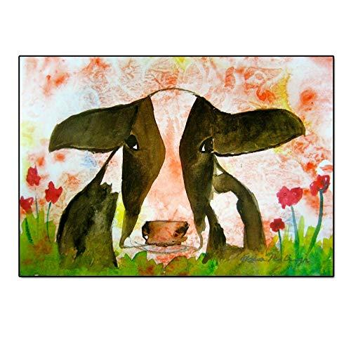 Geiqianjiumai Kunst Hochland Vieh Tier Leinwand Bilddruck Wandbild Wohnzimmer Kunst Moderne Dekoration rahmenlose Malerei 30x40cm