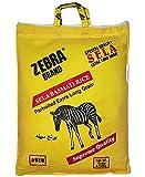 Zebra XXL Sela Aged Parboiled Extra Long Grain Basmati Rice - 10lb., 4.53kg.