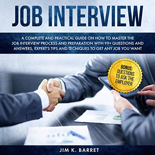 Job Interview Questions and Answers audiobook cover art
