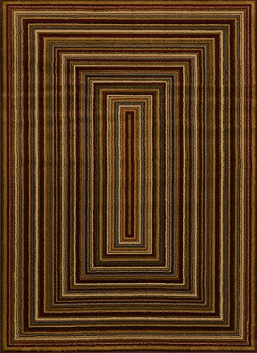 United Weavers of America Affinity Collection Chappelle Rug, 1-Foot 10-Inch by 7-Feet 2-Inch, Multi Color