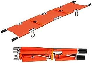 LINE2design Medical Emergency Aluminum Alloy Folding Portable Stretcher with Handles
