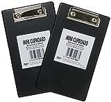 Range Wholesale Pack de 50 Mini Clipboards Ideal para las ó