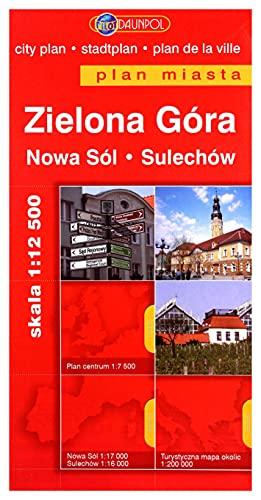 Plan Miasta DAUNPOL. Zielona Góra br