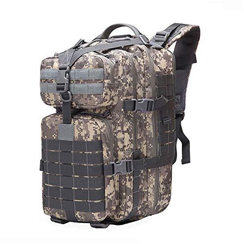 Roquorl 50L Militar Tactical Mochila Molle Militar Bolsa Al Aire Libre Impermeable Caza Mochila Grande Senderismo Camping
