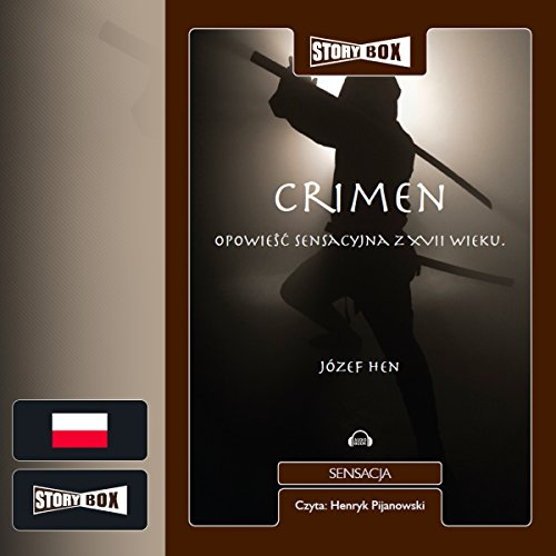 Crimen audiobook cover art