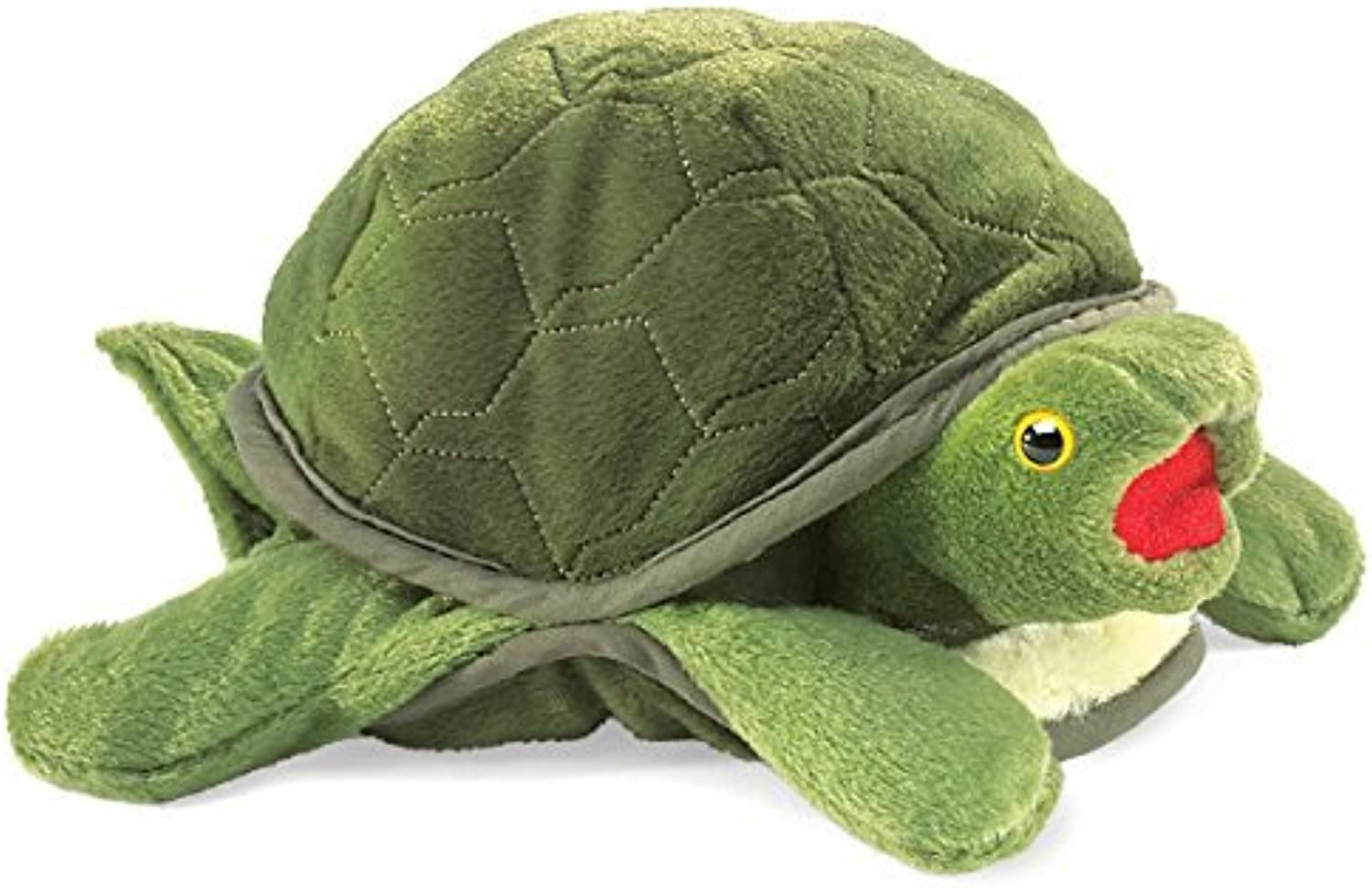 Folkmanis Baby Turtle Hand Puppet by Folkmanis