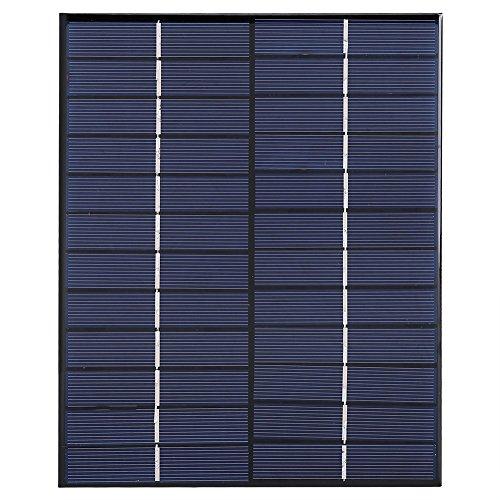 Draagbaar zonnepaneel, 5,2 W 12V polykristallijne silicium zonnepaneelmodule voor doe-het-batterijlader voedingssysteem
