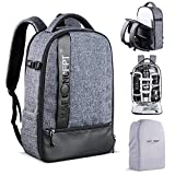 K&F Concept Camera Backpack DSLR Camera Bag Waterprrof Large Photography Bag for DSLR Cameras,14-15 inch Laptop,Tripod,Lenses