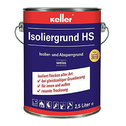 Keller Isoliergrund 581 HS 2,5Ltr. weiß