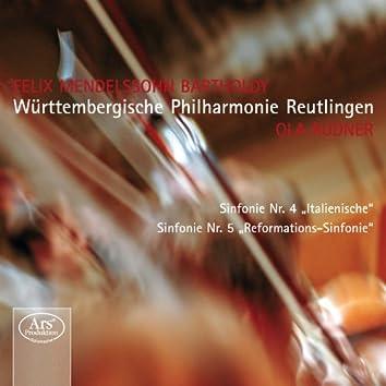 Mendelssohn: Symphonies n°4 et n°5