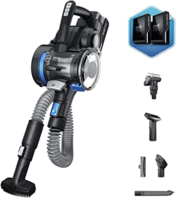 Hoover, Black ONEPWR Blade MAX AutoVac Cordless Hand Held Vacuum Cleaner, Lightweight Handheld for Home Car and Pet Hair, BH53357VE