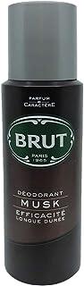 Brut Paris Body Spray For Men, Musk,  200 ml