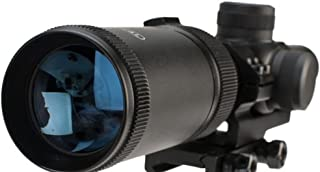 1-4x20 MSR Rifle Scope with Offset Picatinny Mount and Glass Reticle