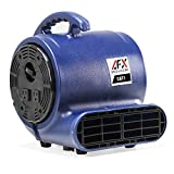 CAT 1 Air Mover Blower Carpet Dryer Floor Fan, for Restoration and Janitorial Use, to Clean and Dry Water Spills, Leaks or Floods (1/5 HP)