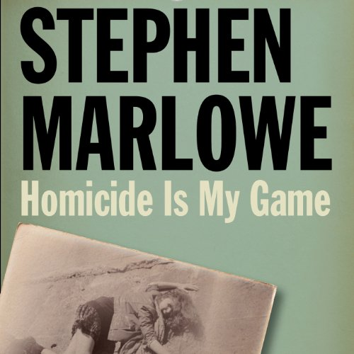 Homicide Is My Game audiobook cover art