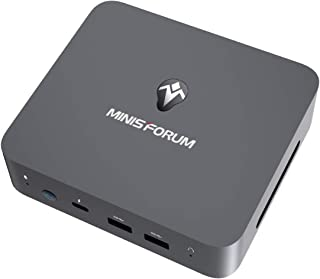 MINIS FORUM Mini PC, Intel Core i3-1005G1, procesador 16 GB DDR4/256 GB SSD Mini Ordenador de sobremesa con Windows 10 Pro...