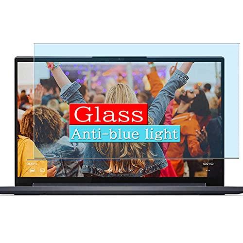 VacFun Filtro Luz Azul Vidrio Templado Protector de Pantalla, compatible con Lenovo Yoga 760 14' Visible Area (cobertura no completa/Not Funda Carcasa)