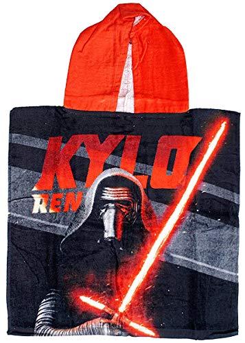 Get Wivvit Niños Star Wars Kylo REN Poncho Capucha