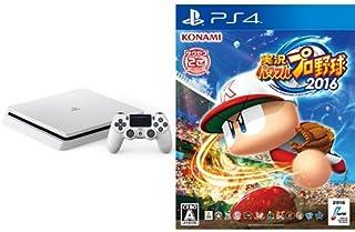 PlayStation 4 グレイシャー・ホワイト 1TB (CUH-2000BB02) + 実況パワフルプロ野球2016 (特典なし) - PS4
