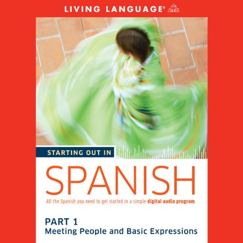 Starting Out in Spanish, Part 1 audiobook cover art