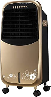 Móviles Evaporativos Ventiladores Frío Y Calor. Uso Doble. Depósito De Agua De 4.5 L. 7.5H. Tiempo De 3 Velocidades. Modo Viento 3. Ventilador del Aire Acondicionado. Oro.