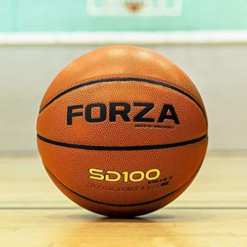 FORZA SD100 und SD200 hochwertiger Basketball │ Premium Basketball für den Innen- und Außenbereich (SD100, 30er-Set)