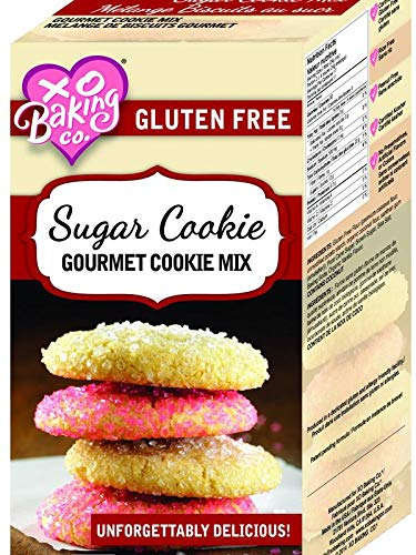XO Baking Co. Sugar Cookie Mix - Non-GMO Sugar Cookie Dough Mix - Birthday and Holiday Cookies (6 Pack) (14.4 Ounce (Pack of 1))